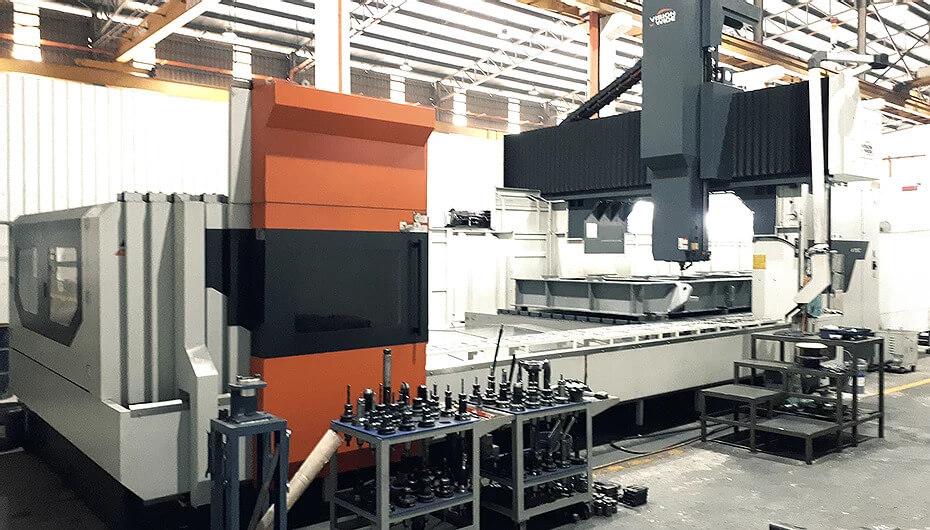 CNC Milling 5 Face Double Column