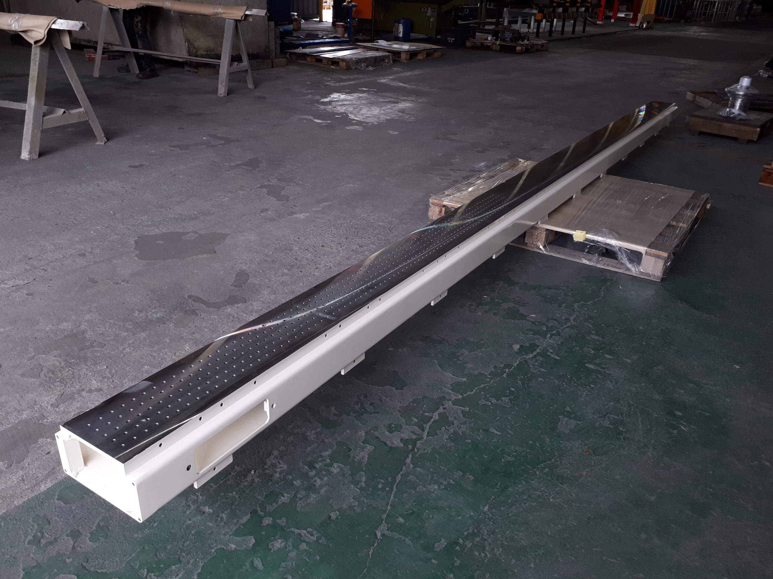 Frame Structure Fabrication & Machining